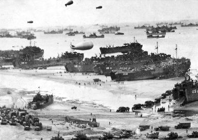 Normandía y Berlín, escenarios de la II Guerra Mundial