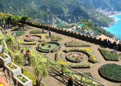 Parques y jardines del Sur de Italia